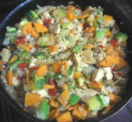Curry de verduras y miel