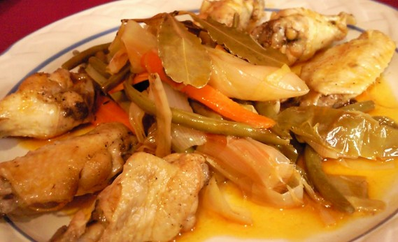 Escabeche de gallina