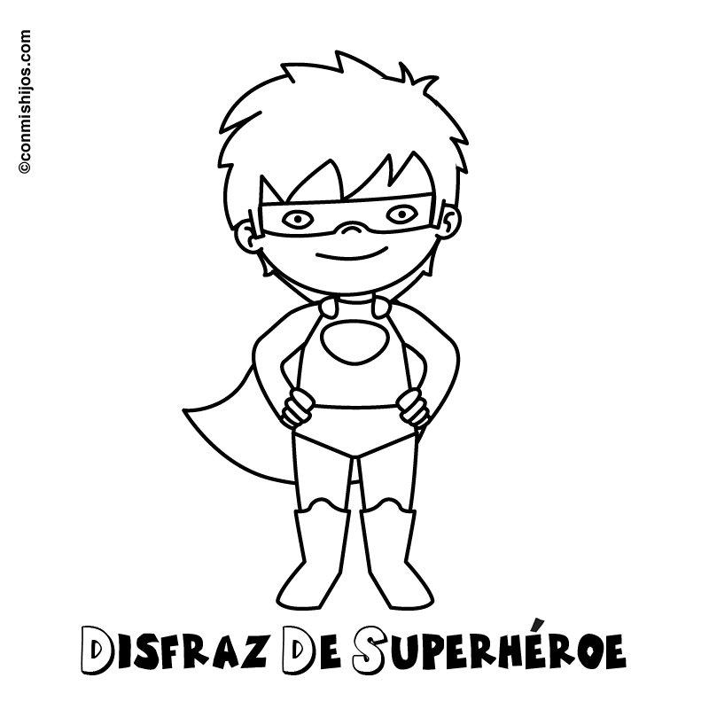 Dibujos De Superheroes Para Colorear E Imprimir Gratis Dc