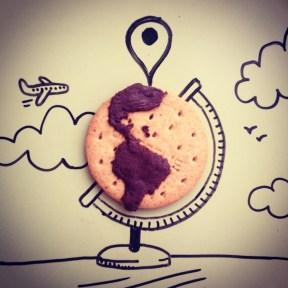Ilustraciones en instagram de Desayunos Creativos realizados por Fernando Sánchez - conmisojos