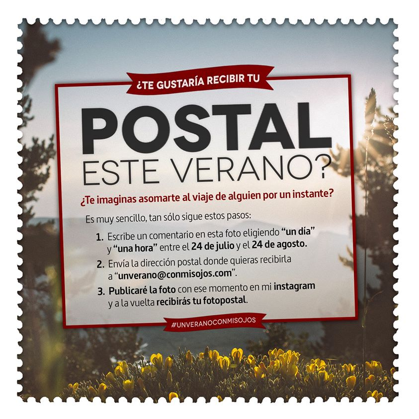 Roadtrip Nordico UnVeranoConmisojos 2015 - Postal