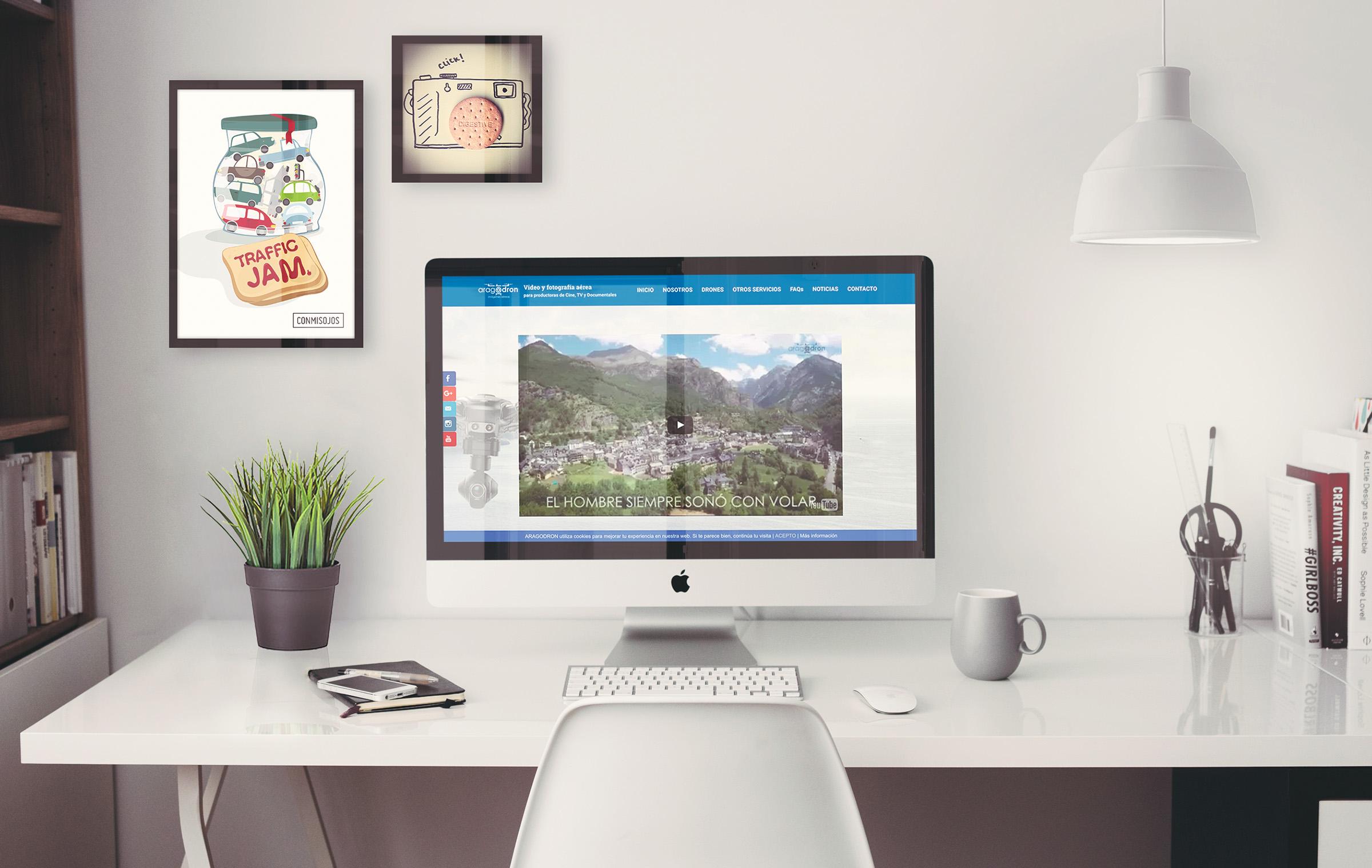 Diseño Website Aragodron conmisojos