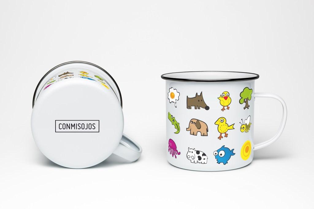 Mug with Illustration conmisojos - Tazas diseño