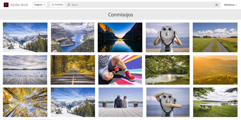 Galeria de Fotografias de Conmisojos en Adobe Stock