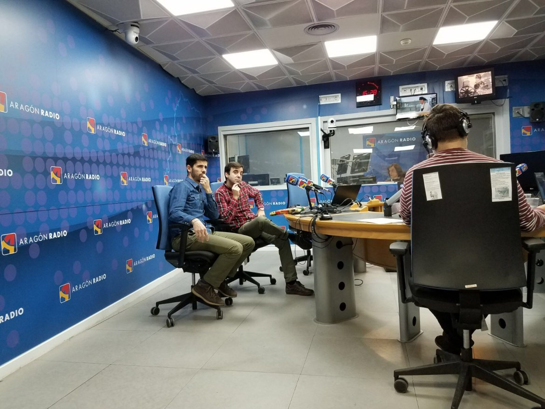 Aragon radio - programa Escúchate con Javier Vazquez, David Lozano y Fernando Sanchez