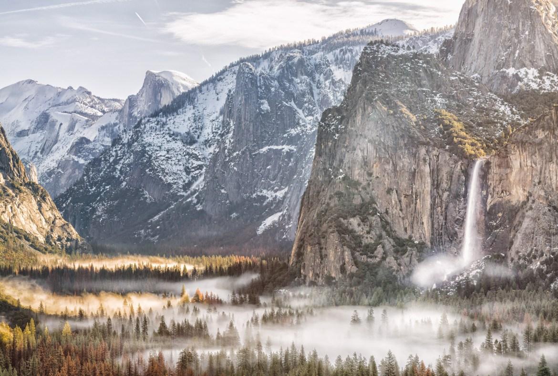 Viaje California - Roadtrip fotografico Conmisojos - Yosemite Foggy