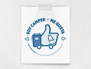 """Identidad, ilustración y logotipo """"Soy Camper"""""""
