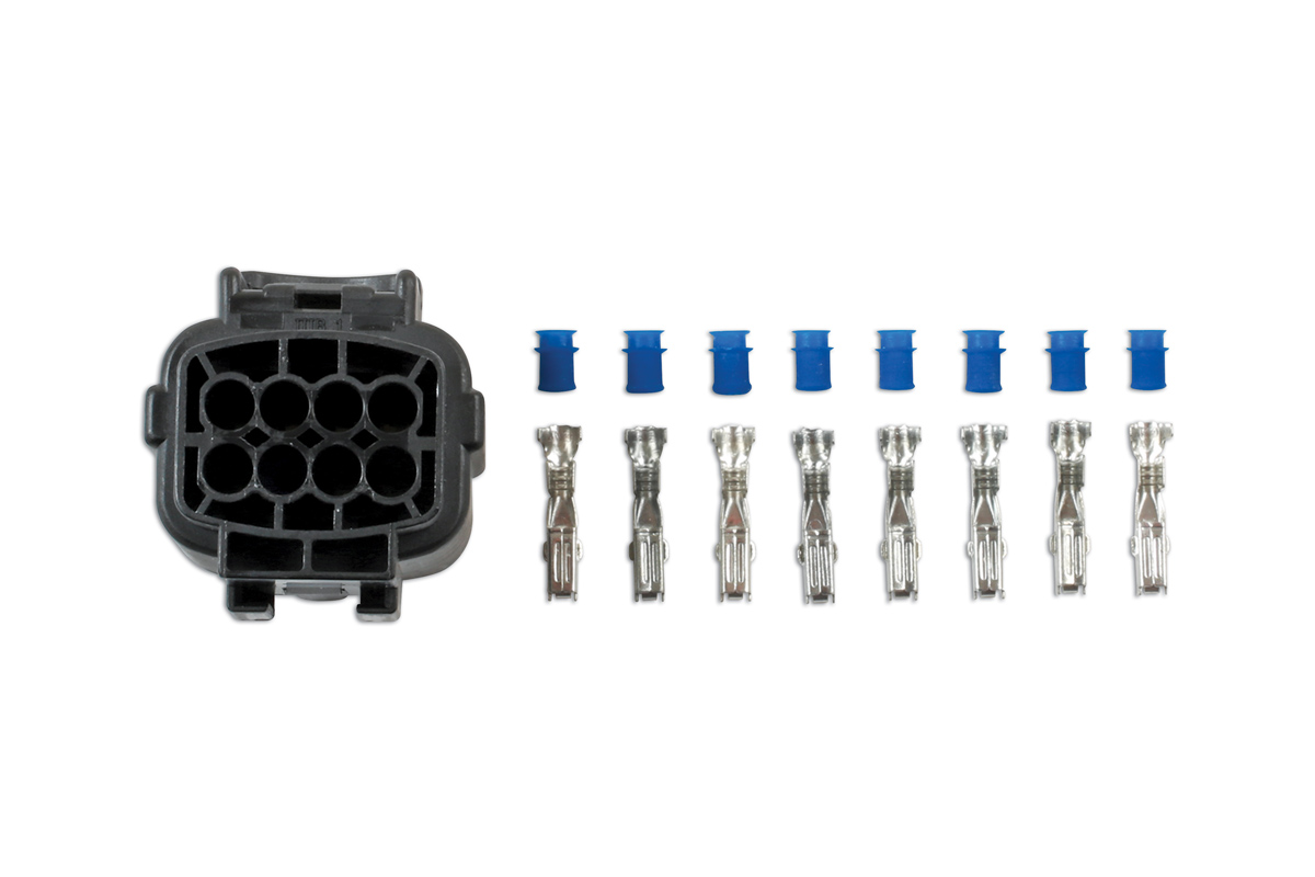 Amp Econoseal J Series 8 Pin Female Connector Kit