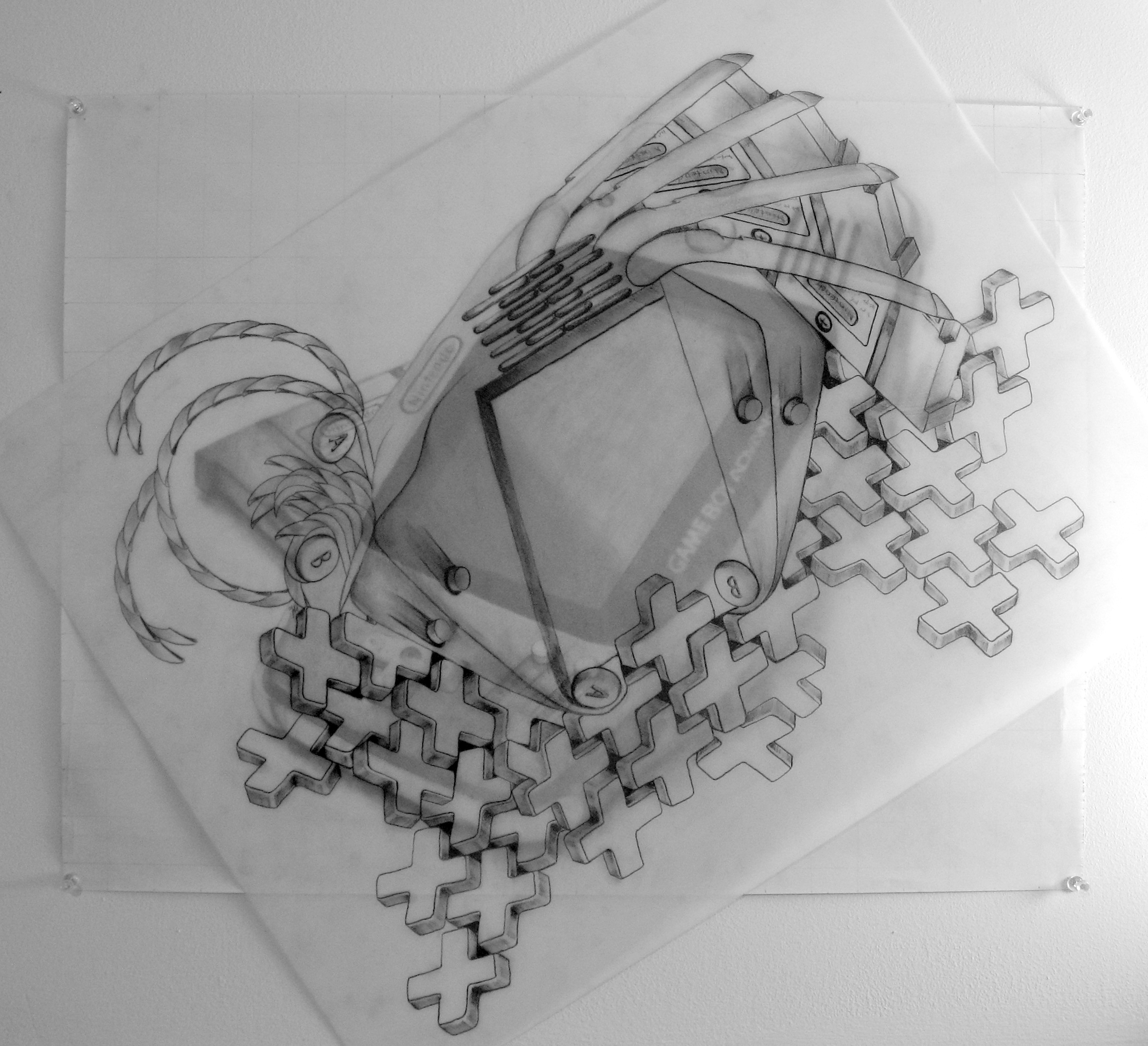 Drawing 2 Mechanical Object Emily Carr University