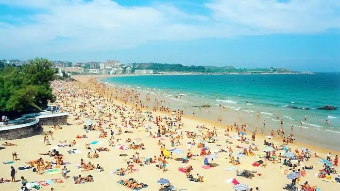 2. playa sardinero santander spain