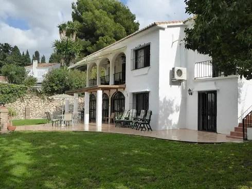 Holiday Villa Rental Fuengirola, Villa Paradiso