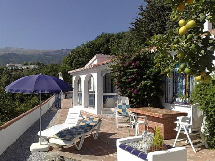 Holiday Villa in Competa, Villa Nispero