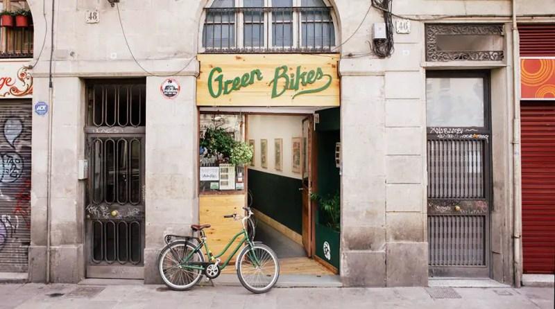 Green Bikes Barcelona