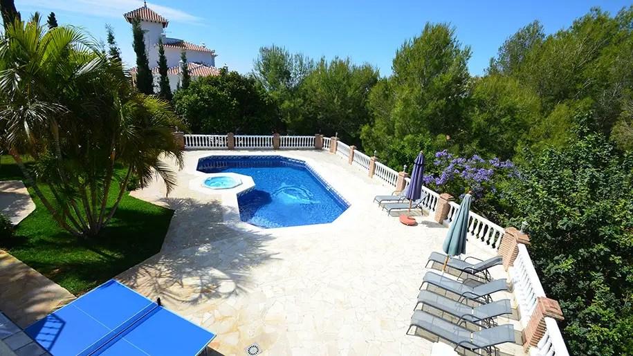 los cipreses luxury holiday villa in nerja