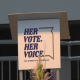 Her vote. Her Voice. movement celebrating 100 years of ratification of 19th amendment