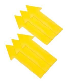 Oncourt Offcourt Long Arrows (set of 6)