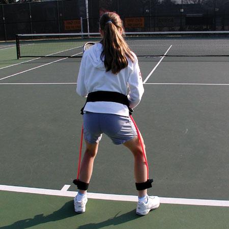 Flex Trainer Tennis Back View