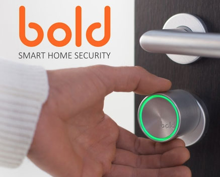bold smart cylinder lock for connected homes