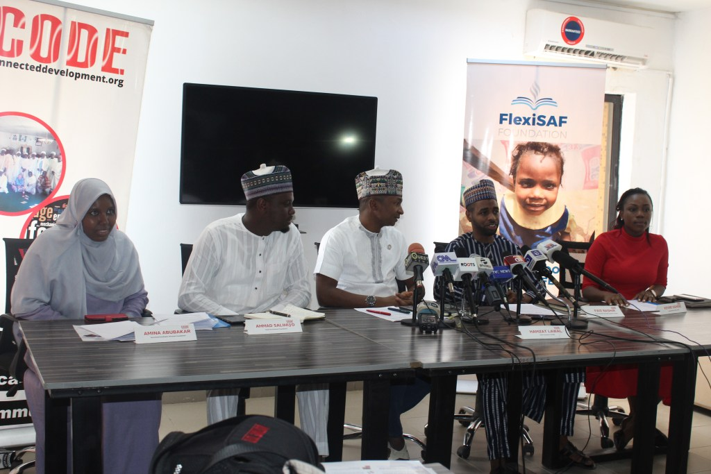 CODE, FlexiSAF Foundation to Tackle Growing Number of Out of School Children in Nigeria