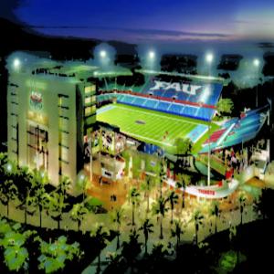 FAU stadium gets a DAS upgrade