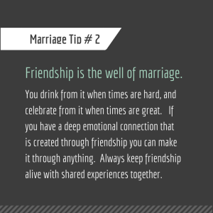 Marriage Tip #2