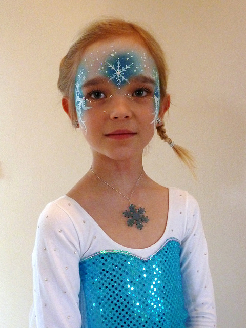 Elsa from Frozen - DIY