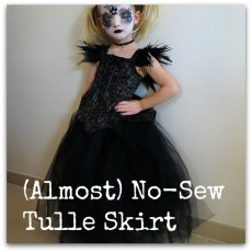 No-Sew Tulle Skirt