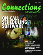 May 2003 issue of Connections Magazine