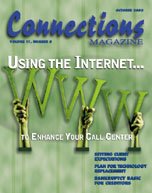 October 2003 issue of Connections Magazine