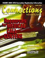 April 2004 issue of Connections Magazine