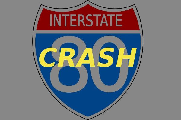 interstate 80 I-80 crash