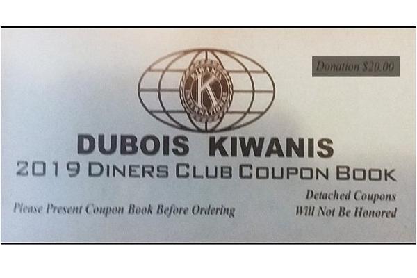 DuBois Kiwanis Coupon Book 2019