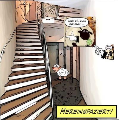 Treppenhaus Hinrich Baller
