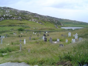 Old Graveyard on Inishbofin
