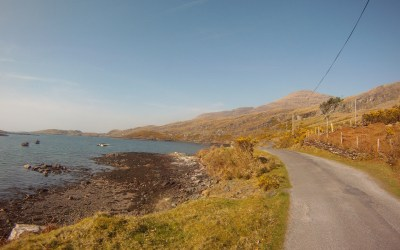 Walking the Killary Fjord