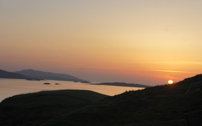 Isn't the Connemara Sunset spectacular ?