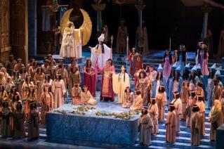 Aida alla Dubai Opera
