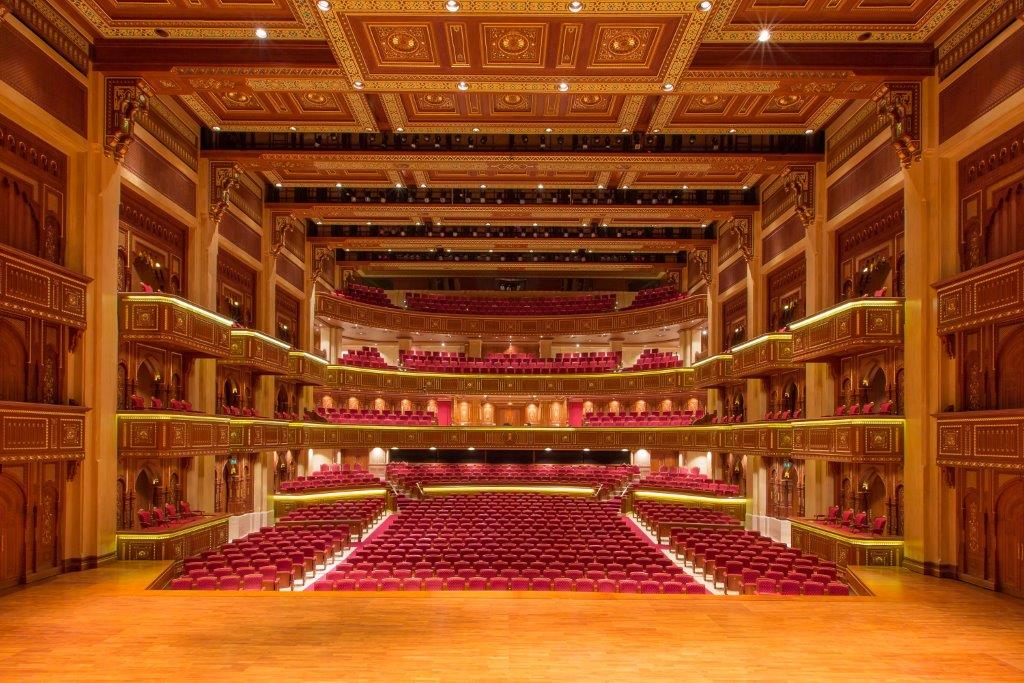 Royal Opera House of Muscat - Photo credit: Khalid AlBusaidi, ROHM