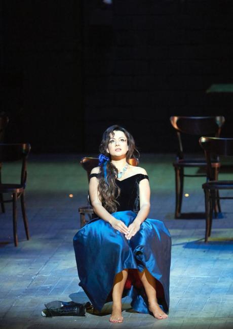 La traviata, Wiener Staatsoper (2015). Photo credit: Michael Poehn