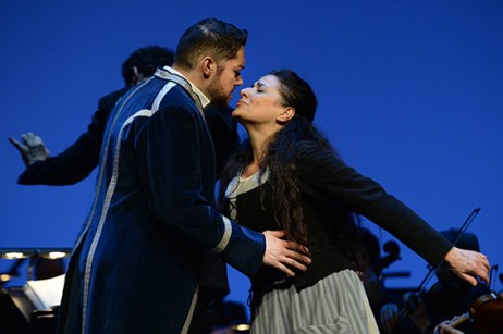 Edgardo Rocha con Cecilia Bartoli in Cenerentola