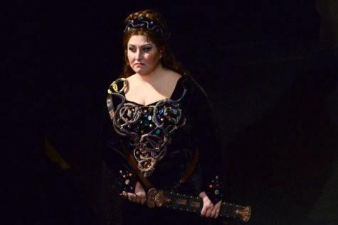 Anna Pirozzi è Abigaille nel Nabucco di Verdi