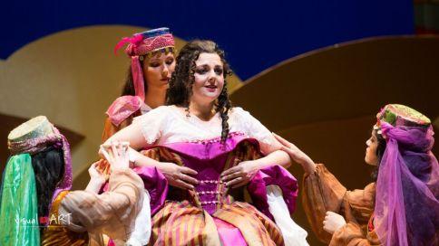 Chiara Amarù nell'Italiana in Algeri al Teatro Verdi di Trieste