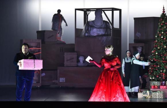 Saioa Hernández è Abigaille in Nabucco al Regio di Parma - Photo credit: Roberto Ricci