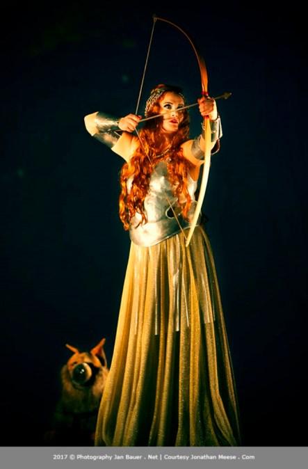 Magdalena Anna Hofmann è Kundry in Mondparsifal, Theater an der Wien 2017