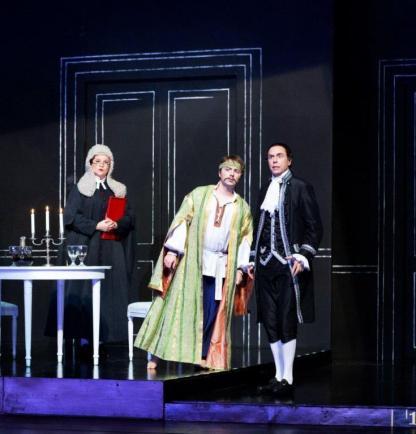 Matteo Macchioni interpreta Ferrando nel Così fan tutte