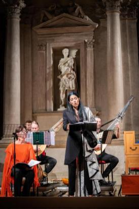 Vivica Genaux in Juditha Triumphans al Teatro Olimpico di Vicenza