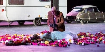 Roberto Frontali nel Rigoletto allestito al Circo Massimo dall'Opera di Roma