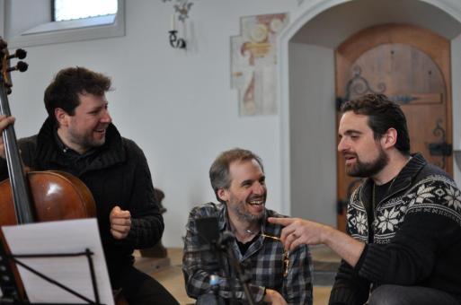 Da sinistra: Daniel Rosin, Johannes Keller e Flavio Ferri-Benedetti