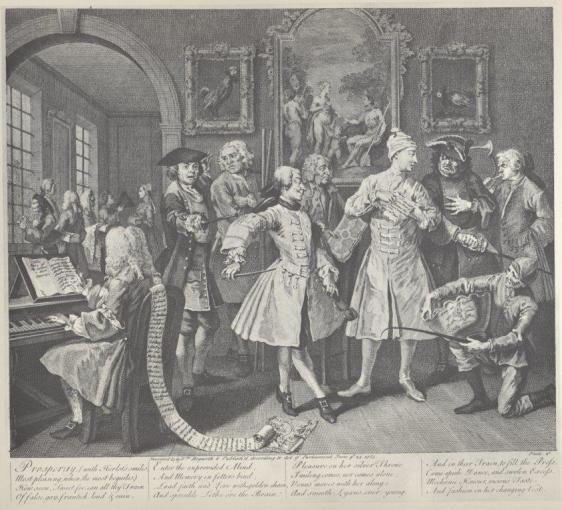 William Hogarth, A Rake's Progress