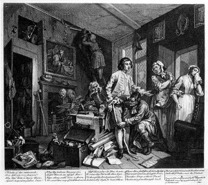 William Hogarth, The Rake's Progress, L'eredità